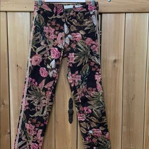 Anthropologie Chino 26 Relaxed Floral